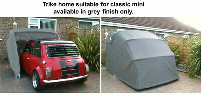 Classic Car Cover Mini Mg Storage Garage Barn Motorcycle Car Folding Shed Bike + • 194.99£