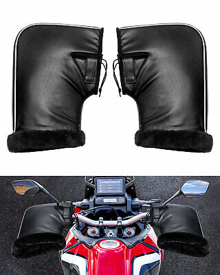 Motorcycle Handle Bar Mitts Hand Warmer Motorbike Bar Muffs Gloves Cover • 18.88£
