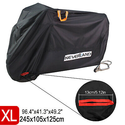 Motorcycle Cover Heavy Duty Waterproof UV Vented For Suzuki V-Strom 250 650 1000 • 16.89£