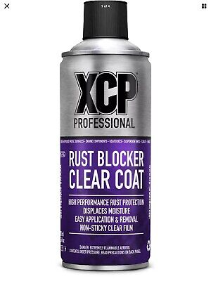 XCP Clear Coat Rust Blocker High Performance Motorcycle Rust Protection Aerosol • 15.90£