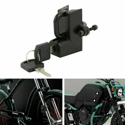 Motorcycle Helmet Lock Anti-theft Security Universal For 7/8 -1  22-25 Mm Tube • 20.59£