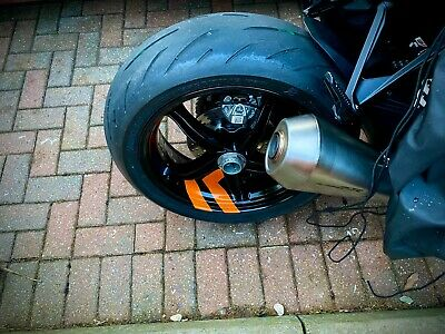 Motorcycle Chevron Wheel Rim Stickers Decals UK Made To Order Premium Quality • 8.99£