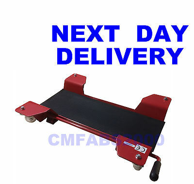Motorcycle Centre Stand Dolly Scooter Motorbike Mover Stand Dolly Mover • 54.99£