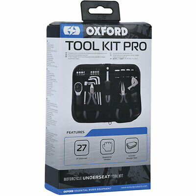 Oxford Toolkit Pro Motorcycle Motorbike Underseat 27 Piece Set • 34.99£