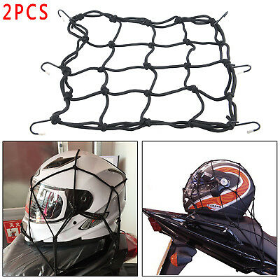 Bungee Cord Cargo Luggage Net - Motorcycle/Camping/Outdoor 30cmX30cm Pack Of 2  • 2.99£