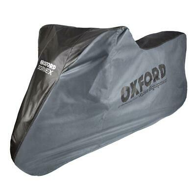 Oxford Dormex Indoor Motorcycle Dust Cover Large Motorbike Covers Black Grey • 23.94£