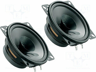 Car Loudspeakers 100mm 40W 90÷13000Hz 2 Loudspeakers 4Ohm 37mm[1 Set] • 24.34£