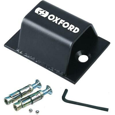 Oxford Brute Force Motorcycle Bike Security Ground Wall Anchor New Sold Secure • 15.99£