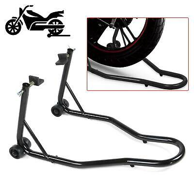 New Universal Motorcycle Sportbike Track Day Garage Pit Rear Paddock Stand Black • 27.39£