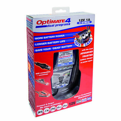OptiMate 4 Dual Program Battery Charger   • 58.45£