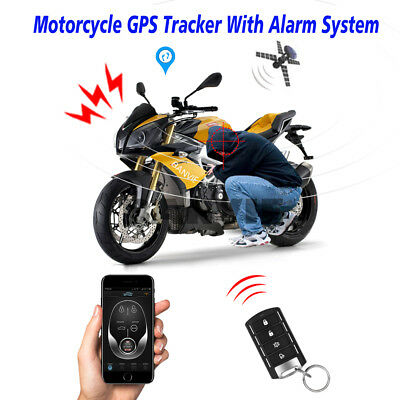 2 In 1 Motorcycle GPS Tracker + Motorbike Security Alarm System With Phone APP  • 49.99£