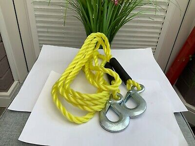 Tow Rope 4m Heavy Duty,for Car,van.nice Christmas Present.🌲🌲 • 7.99£