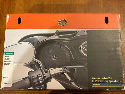 Harley Davidson Touring Boom Audio 6.5 Fairing Speaker 76000317 New* • 74.93£