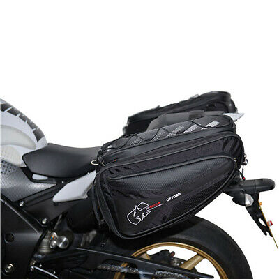 Oxford Lifetime Luggage P50R 50 Ltr Litre Motorcycle Motorbike Panniers Black • 103.99£