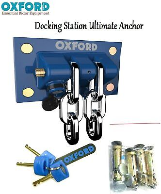 Ground Anchor Oxford Brute Force Motorcycle Secure Security OF439 • 74.49£