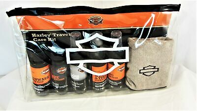 Harley Davidson Travel Care Kit Motorcycle Biodegradable Cleaning Set New In Pkg • 18.88£
