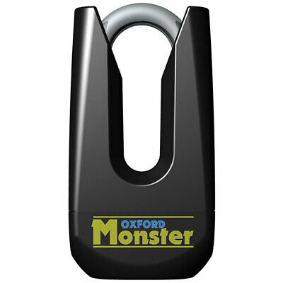 Oxford Monster Disc Lock Yellow • 42.54£