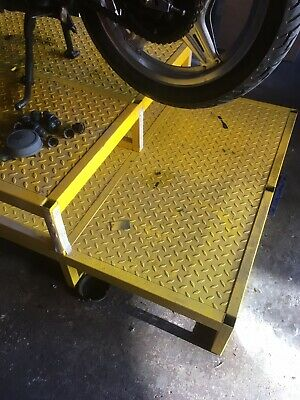 Motorcycle Bench Stand Or Metal Step Loads Of Uses • 70£