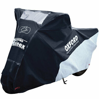 Oxford Rainex Deluxe Rain & Dust Cover - Black / Grey Small - Scooters • 34.99£