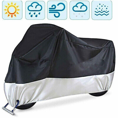 XL Motorcycle Motorbike Moped Cover Waterproof Rain Protector Vented Scooter  • 9.99£
