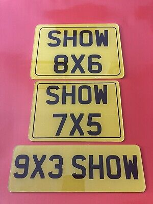 Motorcycle Style Show Sign Premium Acrylic Plate 8x6 7x5 9x3  • 9.95£