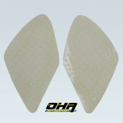 Race Track Tank Traction Pads Grips For Suzuki GSXR1000 2007 2008 K7 K8 CLEAR 3M • 15.99£