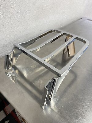 Harley Dyna Tapered Luggage Rack For Dyna Chrome Fits 2006-2017 53718-04 J73 • 42.69£