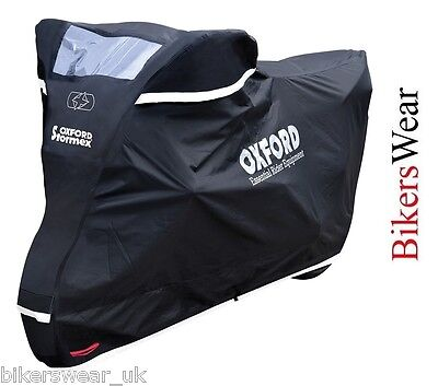 Oxford Stormex Ultimate Weather Motorcycle Bike Rain Outdoor Cover EXTRA LARGE ! • 89.43£