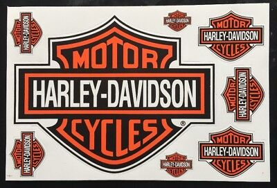 8 Harley Davidson Stickers Decals Vinyl Bike Motorbike Racing Helmet Biker • 4.49£