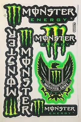 6 Motocross Wing Stickers Decals Dirt Bike MTB Folks Helmet BMX Quad Skateboard • 3.95£