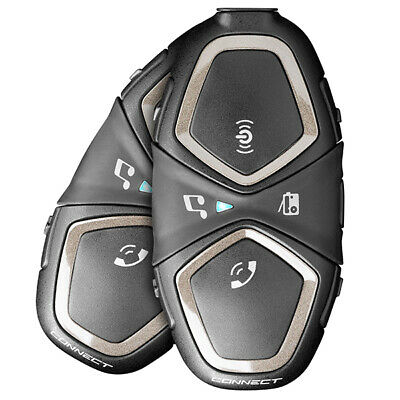 Interphone Connect Twin Pack Bluetooth, Music & GPS Directions • 165.59£