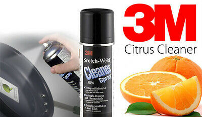 3M Citrus Cleaner 50098 Adhesive Tar Glue Oil & Grease Remover Spray 500ml • 28.86£