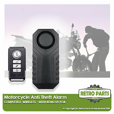 Wire-free Motorbike Alarm For Lexmoto. Easy Install Anti-Theft Protect • 27.95£