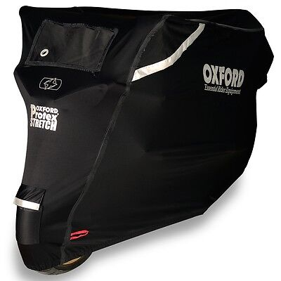 Oxford Protex Stretch Outdoor Motorcycle Motorbike Cover Size L Large CV162 • 81£
