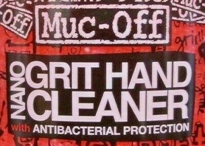** Bacterial * Protection ** Muc-Off Nano Grit Gel Hand Cleaner 500ml • 18.99£