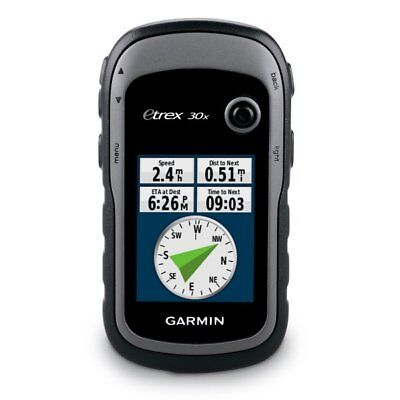 Garmin ETrex 30x Outdoor GPS With GLONASS, Compass And Altimeter 010-01508-10 • 125.75£