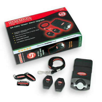 Thatcham Approved New Datatool  S4 C221 Green Cat 2:1 Alarm Upgrade Kit • 199£