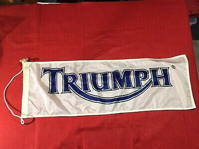 Triumph Motorcycles Banner • 29.94£