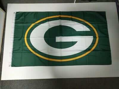 Green Bay Packers NFL Flag 3' X 5' - Perfect For Garage, Man Cave, Shed, Bedroom • 9.99£