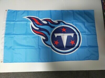 Tennessee Titans NFL Flag 3' X 5' - Perfect For Garage, Man Cave, Shed, Bedroom • 9.99£