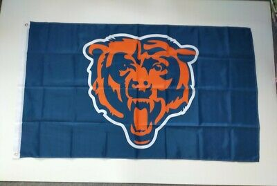 Chicago Bears NFL Flag 3' X 5' - Perfect For Garage, Man Cave, Shed, Bedroom • 9.99£