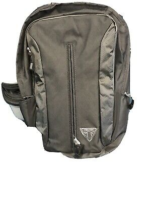 Triumph Badged Motorcycle Backpack Rucksack - Brand New - Black • 20£
