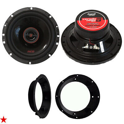 Cerwin Vega 6.5 Inch Car Motorcycle Speakers For Harley Davidson W Adapter Kit • 52.37£