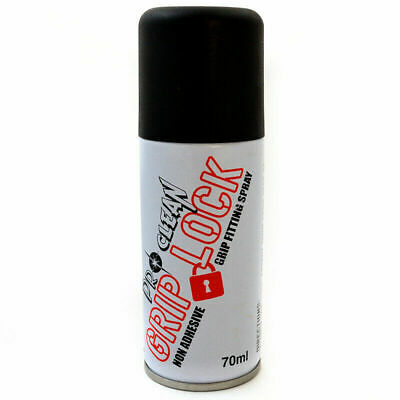 Motorcycle Scooter Pro-Clean Grip Lock Spray Fitting Non-Adhesive Spray 70ml • 8.79£