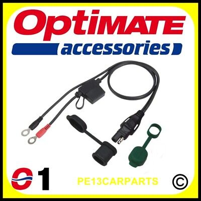 OptiMate SAE71 Battery Charger Lead Motorcycle Accumate Permanent Waterproof Car • 8.19£