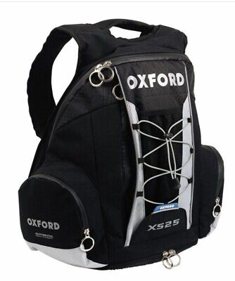 OXFORD Motorcycle Lightweight Sports Backpack XS25 • 43.99£
