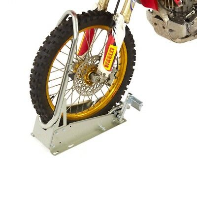 ACEBIKES Steady Stand Cross Pro MX Motorbike Front Wheel Clamping Chock Stand • 127£