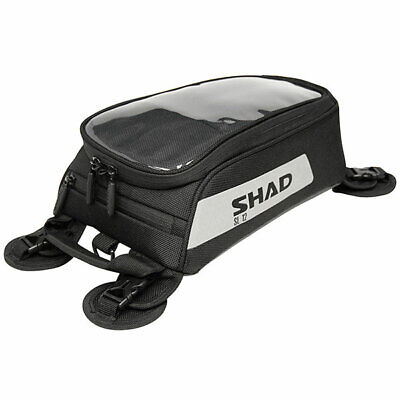 Shad SL12M Small Tank Bag Motorcycle Motorbike Soft Luggage • 41.39£