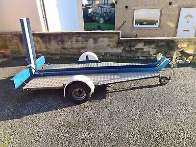 Motorcycle Trailer For Single Bike With Spare Wheel - Used • 570£