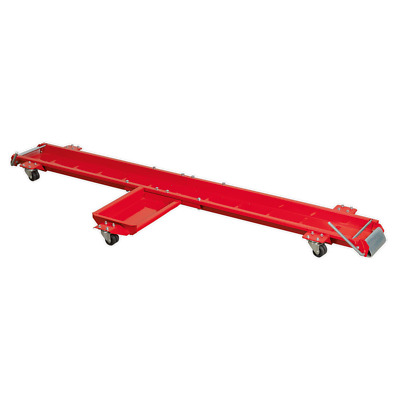 Motorcycle Dolly Workshop Garage Wheeled Motorbike Mover Side Stand Type SEALEY  • 89.99£